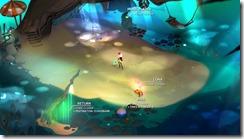 אזור ה- Hub של המשחק.