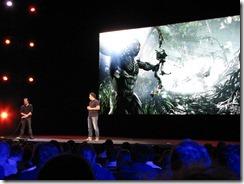 קרייסיס 3 במסיבת העיתונאים של EA