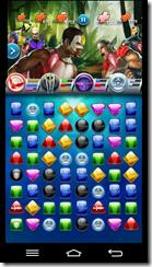 לוח המשחק, בו נלחם עד המוות באמצעות החלפת לבנים צבעוניות